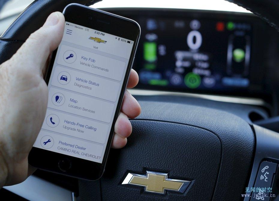 研究人员声称:黑客可以攻击通用汽车OnStar的APP,启动发动机并开走汽车