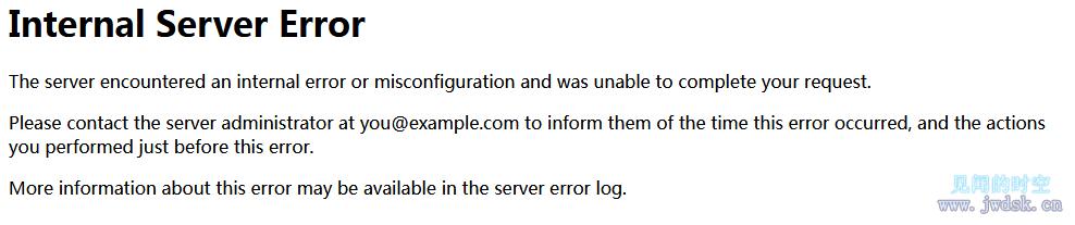 .htaccess经WINDOWS复制后,在linux服务器apache开启rewrite导致出现Internal Server Error